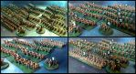 Riders of Rohan (6mm, granny-grating) by Spielorjh