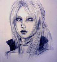 Nina Williams by Milikokawasaki