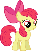 Applebloom by MoongazePonies