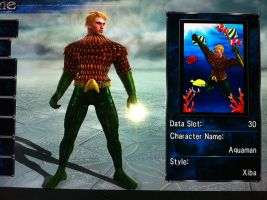 Aquaman Soul Calibur by MisterNefarious