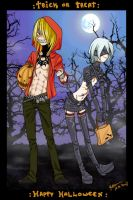 :Trick or Treat: Togainu style by Puffsan