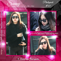 +SUNNY | Photopack #O1 by AsianEditions