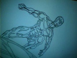silver surfer by gongonlit21