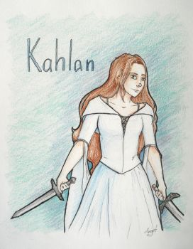 Kahlan - Sword of Truth by ArgetArt