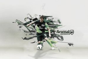 Arshavin Arsenal Wpp by daWIIZ
