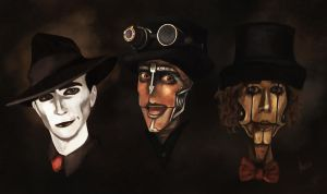 Steam Powered Giraffe by Intryck