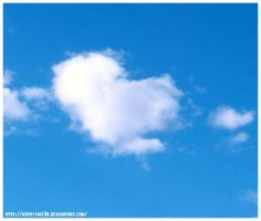 Heart Shaped Cloud by asphyxiat3d