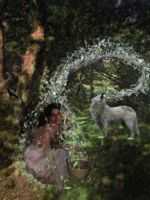 The Wolf Who Cried Girl by JussettaSnake