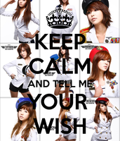 SNSD - KEEP CALM AND TELL ME YOUR WISH by xshawolviVIPx