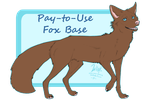 Fox Base[ P2U ] by Stole-Your-Popsicle