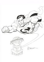 Saviuk's Superman by ComicBookArtFiend
