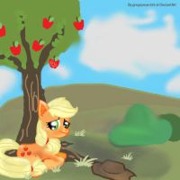 Know where your home is. -Applejack by gregeyman555
