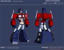 AP Optimus Prime by KrisSmithDW