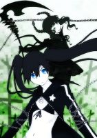Black Rock Shooter by MuzzaThePerv