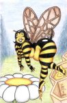 Bumble Bea the Bumble Bee by LimeGreenSquid
