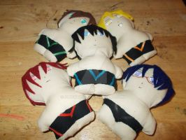 Free! Mini Plushies by snowtigra