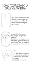 TUTORIAL: DIBUJAR JAKE EL PERRO//UPDATE by Yeonseb