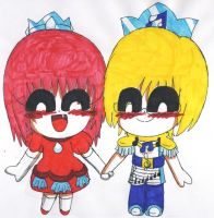 AT: Nara and Mark holding hands by V-P-aurore-star