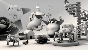 Final for Intro 3D Modelling Course by BlazeTBW