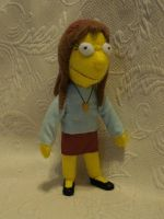 Custom plush - Allison Taylor by silentorchid