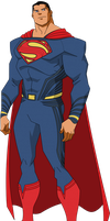 Superman BvS (Bourassa) by MAD-54
