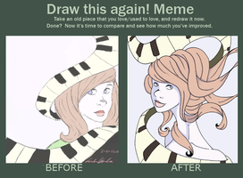 meme: draw this again by shandsy