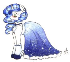 A Star at the Ball... by felly-pepper