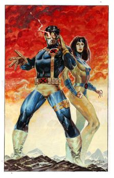 Cyclops and Jean Grey by ardian-syaf