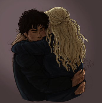 Bellarke Hug by RiTTa1310