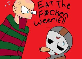 eat the bleeping weenie jason by ACINOM18
