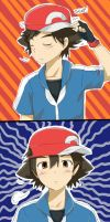 Pokemon XY Ash by Henna-Coco