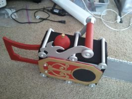 Grell's Chainsaw Finish 1 by BaconFlavoredCosplay
