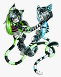 Point Commission: Yushi and Lucain by debsie911