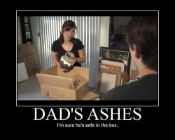 Dads Ashes by htfman114