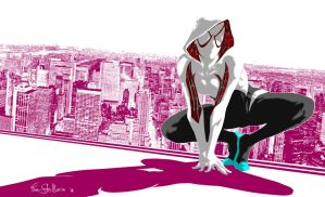 Spider Gwen by Iantoy