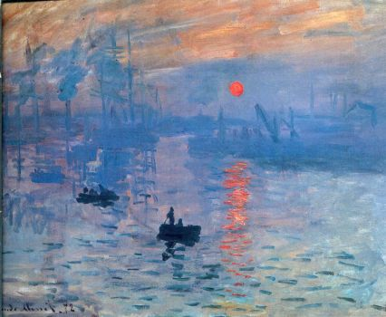Impression, Sunrise by Claude Monet by Printing-Services