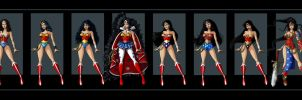 wonder woman group shot by nightwing1975
