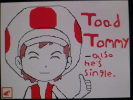 Toad Tommy by jordyxlife