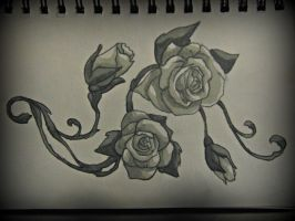 Rose Design by loulaLETHAL