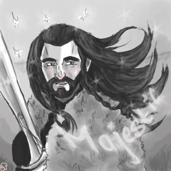 Majestic Thorin by sawieb