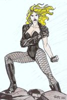 WSC Black Canary by Egoff by DarkKnightJRK