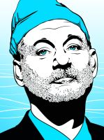 Bill Murray The Life Aquatic by ShaneMillerdk2