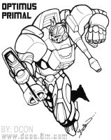 Optimus Primal by DCON