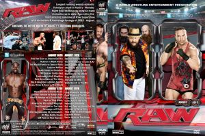 WWE Raw August 2013 DVD Cover by Chirantha
