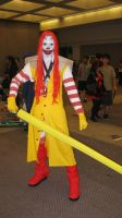 Evil Ronald McDonald lol by ChrisXLee