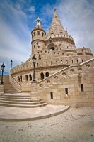 Budapest - Fisherman's Bastion by lesogard