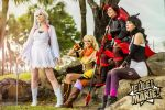 RWBY Group by LeapingLizardCosplay