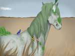 [Quirlicorns] #39 Sour Apple (Lease Horse) by ThetaDonaldson
