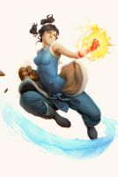 The Legend of Korra by clonerh