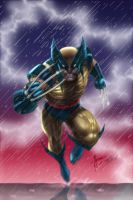 Dale Keown Wolverine my color by tomscolor